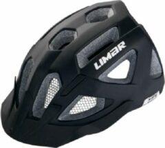 Witte MTB Fietshelm mat zwart - Limar X-MTB - Maat L - 57-62cm