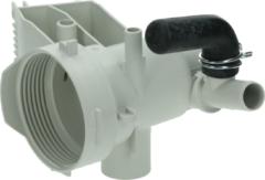 Miele Flusensiebgehäuse für Ablaufpumpe (Pumpenkopf) für Waschmaschinen 3713981