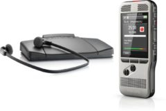 Zilveren Philips DPM 6700 - Digitale starter kit DPM 6000 and LFH 7177 transcriptie set