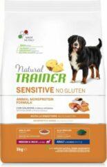 Natural trainer dog adult medium / maxi sensitive salmon 3 KG