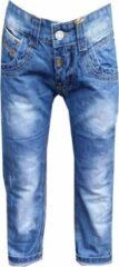 Blauwe Merkloos / Sans marque Jongens jeans fashion Maat:122/128