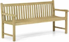 Grijze Garden Collections Preston houten tuinbank teak 180 cm
