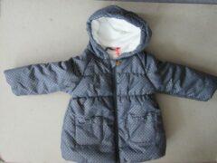 Marineblauwe Winterjas marine voor meisje van noukie's 6 jaar 116