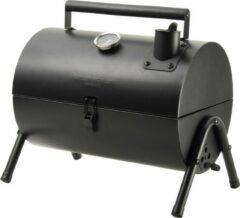 Gusta® Gusta Barbecue Grill en Smoker - Grilloppervlak (LxB) 22 x 18 cm - Met Thermometer - Zwart