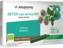 Groene Arkofluids Detox voor de huid bio drinkampullen