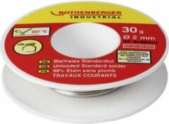 Rothenberger Loodvrij Soldeer - 30gr/Ø2mm