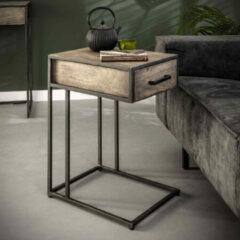 LifestyleFurn Laptoptafel 'Garret' Acaciahout, 35 x 45cm