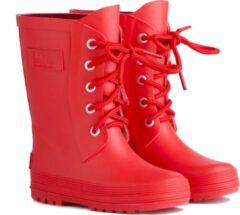 Regenlaarzen Kinderen (Mini) - Rood - LotOfRain - maat 21