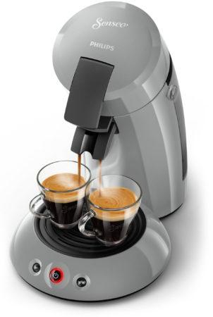 Afbeelding van Zilveren Philips Senseo Original HD6553/70 - Koffiepadapparaat - Zilvergrijs