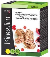 Kineslim Crunch Reep Rode Vruchten (3st)