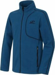Hannah Vest Hobart Jongens Fleece/polyester Blauw Maat 140