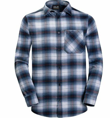 Afbeelding van Jack Wolfskin - Light Valley Shirt - Overhemd maat XL, grijs/blauw