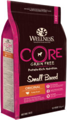 Wellness Core Grain Free Dog Small Breed 1.5 kg - Hondenvoer - Kalkoen