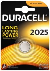 Batterie Typ 2025 Lithium Knopfbatterie Duracell bunt/multi