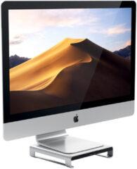 Satechi Aluminum iMac Monitor Standaard Hub Zilver