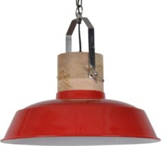 Collectione Hanglamp Loreto 62 cm 1 Lichts Glans Rood Industrieel