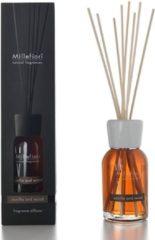 Bruine Millefiori Milano Geurstokjes Vanilla & Wood 100 ml