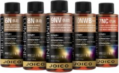 7V - Joico Lumishine Repair+ Demi Liquid Hair Color - Vloeibare Demi-Permanente Haarkleuring
