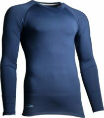 Precision Training Thermoshirt Basislaag Polyester Marineblauw Maat Xs