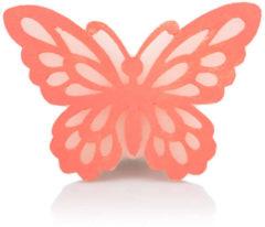"""Rosa Flambiance LED-Kerzen """"Schmetterling"""", 2tlg."""