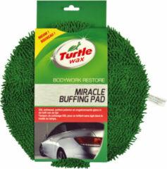 Groene Turtle Wax Miracle Buffing Pad - Poetspad Oppoets Pad met microvezel