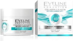 Eveline Cosmetics 3D Collagen Lift Intense Anti-Wrinkle Day & Night Semi-Oily Cream 50ml.