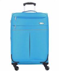 Travel Line 6764 4-Rollen Trolley 65 cm D&N blau