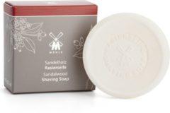 Mühle Skin Care Muhle scheerzeep Sandelhout navulling 65gr