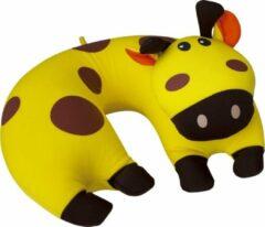 Travelsafe Nekkussen Giraffe Junior 31 Cm Polyester/spandex Geel