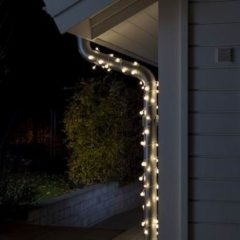 Konstsmide 3680-103 Motief lichtketting Aantal lampen 80 LED Warm-wit Verlichte lengte: 12.72 m