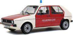 Rode Solido S1800207 landvoertuig model Voorgemonteerd Stadsauto miniatuur 1:18