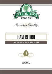 Stirling Soap Co. after shave Haverford 100ml