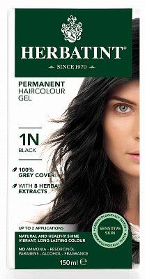 Afbeelding van Herbatint haarkleuring - 01n zwart