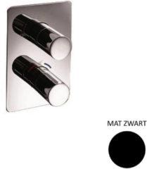 Douchekraan Sanimex Giulini Thermostatisch 2-weg Mat Zwart (Incl. Inbouwdeel)