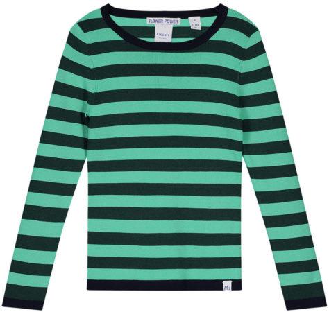 Afbeelding van Donkergroene NIK & NIK NIK & NIK Shirt Jolie Top G 7-417 1802