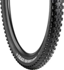 Zwarte Vredestein Black Panther - Buitenband Fiets - MTB - Vouw - Xtreme - Tubeless Ready - 55-584