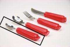 Adhome Aangepast bestek met rood handvat kleine lepel
