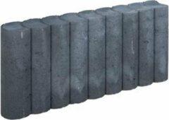 Bruine 5 stuks! Rondo palissade zwart 8x25x50 cm Gardenlux