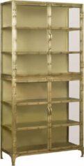 Tower Living Brass Vitrinekast 200 cm Brons Metaal