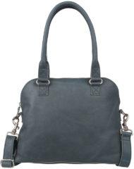 Groene Cowboysbag Bag Carfin Schoudertas Petrol 1645