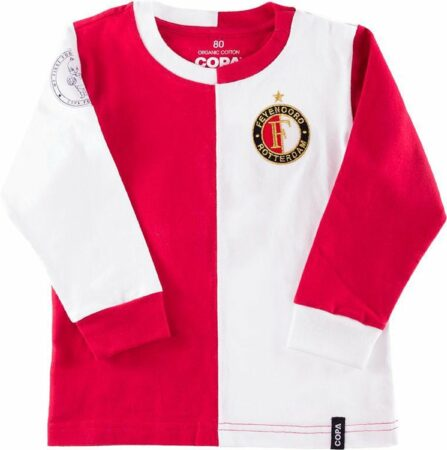 Afbeelding van Rode Feyenoord Baby T-shirt Maat 74