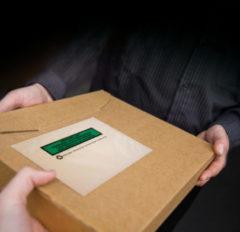 Paklijstenv. ECO Raadhuis C5 228x165mm (binnenmaat), van papier, 1000 st. Voor A5 papier.