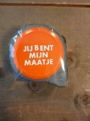 Oranje Deco Holland Rolmaat - jij bent mijn maatje - 5M