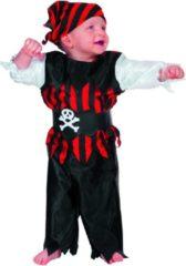 Feestbeest.nl Carnavalskleding Piraat baby jongen Maat 80