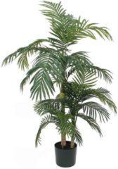 Groene Mica Decorations Mica flowers - areca palm golden cane maat in cm: 150 x 100 in pot