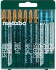 10-delig decoupeerzaagbladassortiment Metabo 623599000 10 stuk(s)