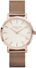 Rosefield The Mercer White Rose Gold horloge MWR-M42