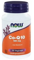 Now Foods Now Co Q10 100 Mg Met Meidoorn Trio (3x 30vc)