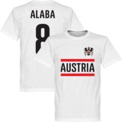 Witte Retake Oostenrijk Alaba 8 Team T-Shirt - XXXXL