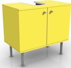 PPS. Imaging Waschbeckenunterschrank - Colour Lemon Yellow - Badschrank Gelb